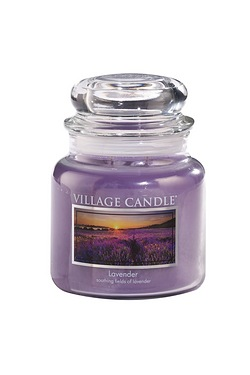 Village Medium Candle Jar - Lavender