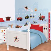 Walltastic: Fireman Sam Room Decor Kit