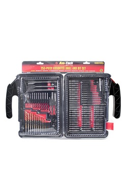 253-Piece Assorted Drill And Bit Set