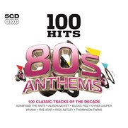 100 Hits - 80s Anthems - 5x CD Box Set