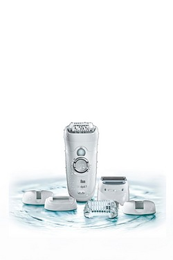 Braun Silk-epil 7 Wet and Dry Mains and Rechargeable Epilator
