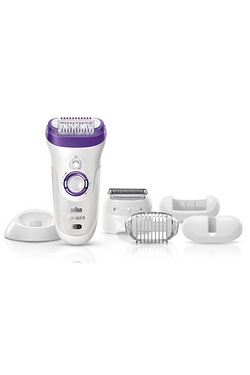 Braun Silk-epil 9 Wet and Dry Mains and Rechargeable Epilator