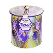 St. Kew Iris Biscuit Barrel