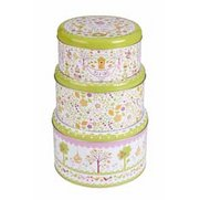 Cooksmart Set Of 3 Cake Tins