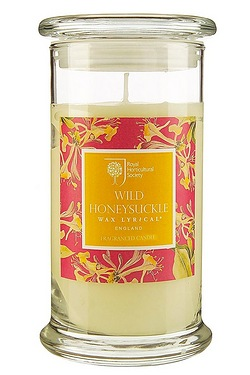 Royal Horticultural Society Wild Honeysuckle Extra Large Jar Candle