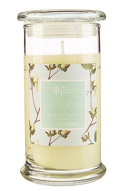 Royal Horticultural Society Soft Cotton Extra Large Jar Candle