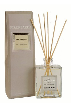 Fired Earth Chai And Lime Blossom Reed Diffuser - 200ml