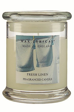 Made In England Jar Candle - Fresh Linen - 65hr Burn