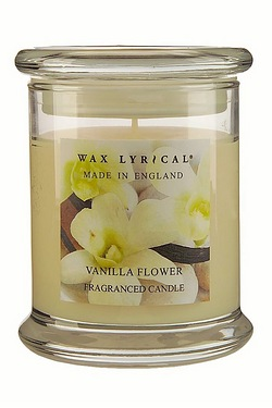 Made In England Jar Candle - Vanilla Flower - 65hr Burn