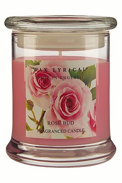 Made In England Jar Candle - Rose Bud - 65hr Burn