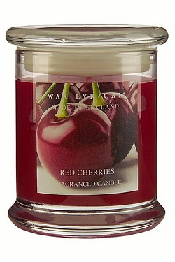 Made In England Jar Candle - Red Cherries - 65hr Burn