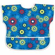 Hippychick Junior Bib - Blue Gears