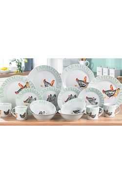 Price and Kensington 16-Piece Dinne...