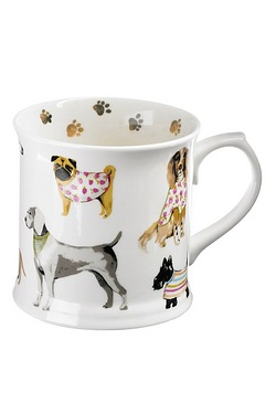 Fine Bone China Mug - Dog