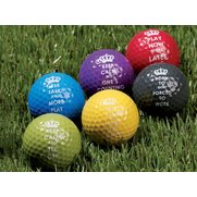 Novelty Sports Keep Calm Golf Balls