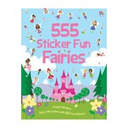 555 Sticker Fun-Fairies