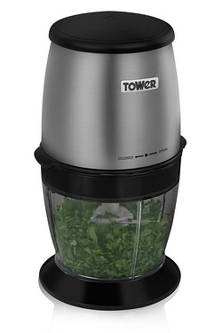 Tower Dual Bladed Mini Chopper & Gr...