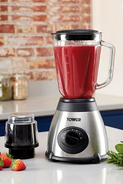 Tower 500W Glass Jug Blender With G...