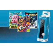 Wii U: Black Remote Bundle & Splato...