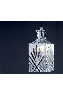 Decanter Glass Ceiling Pendant Lamp