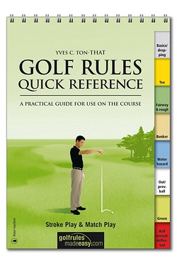 Golf Rule Book - Quick Reference