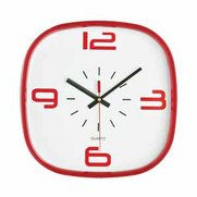 Red Acro Wall Clock
