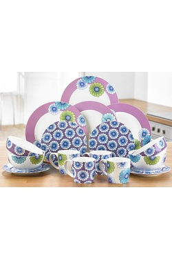 16-Piece Millie New Bone China Dinn...
