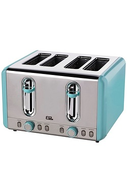 4-Slice Stainless Steel Toaster