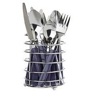16-Piece Cutlery Set & Basket
