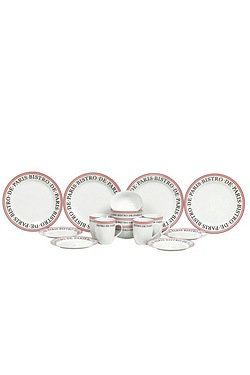 16-Piece French Bistro Dinner Set