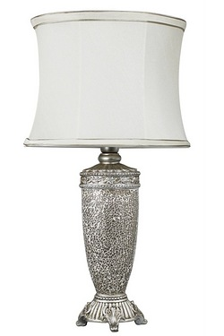 Tall Antique Sparkle Mosaic Lamp
