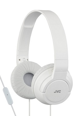 JVC Lightweight Powerful Bass Headphones With Remote & Mic