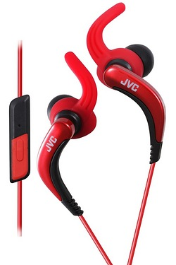 JVC Sports Earphones With Remote & Mic