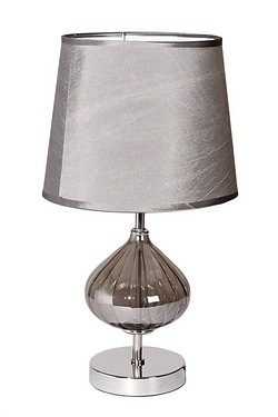 Luton Glass Table Lamp & Shade