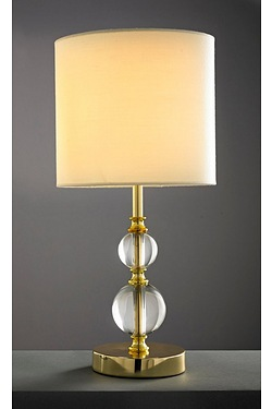 Glass Effect Ball Table Lamp