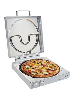 EGL White Square Pizza Maker