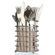 16-Piece Cutlery Set In A Basket