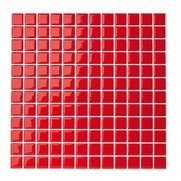 Red 3D Self-Adhesive Vinyl Wall Til...