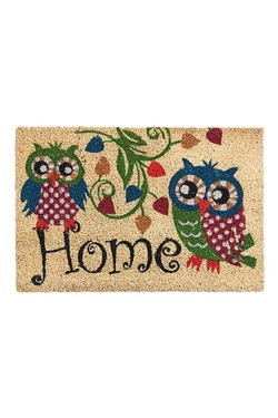 Home Owls Coir Doormat