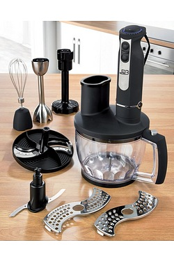 EGL Black Hand Blender Set