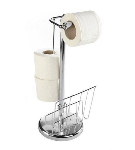 image for 3in1 toilet roll holder from studio