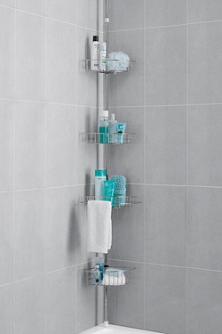 4-Tier Chrome Finish Bath/Shower Caddy