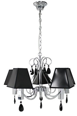 Francesca Five Light Pendant With B...