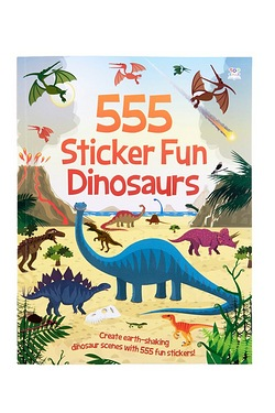 555 Sticker Fun Dinosaurs Book