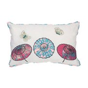 Oriental Umbrella Filled Cushion
