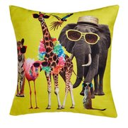 Walk On The Wild Side Filled Cushion