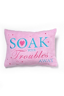 Soak Your Troubles Away Bath Pillow