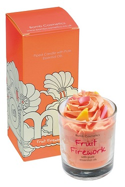 Fruit Firework Piped Candle