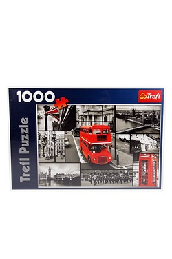 1000 Piece London Bus Puzzle