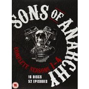 Sons of Anarchy: Season 1-4 - 16x D...